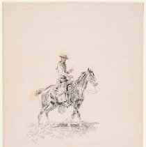 Image of X1952.01.27 - RAWHIDE RAWLINS, MOUNTED