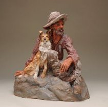 Image of 2000.15.75 - SHEEPHERDER WITH DOG