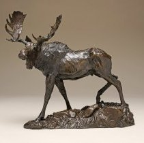 Image of 2000.15.90 - WALKING MOOSE