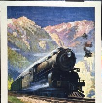 Image of 1980.61.162 - NORTH COAST LIMITED IN THE MONTANA ROCKIES