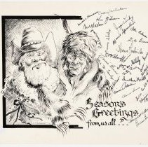 Image of 1990.46.01 - Untitled - Christmas Greetings