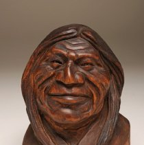 Image of 1978.06.01 - UNTITLED (Bust of a smiling Indian)