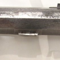 Image of X1959.06.177a-b left view, front barrel lug