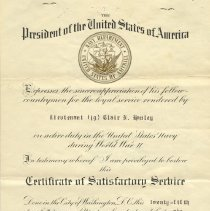 Image of Notice of Separation from U.S.