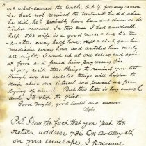 Image of Camp Bird Letter pg 5