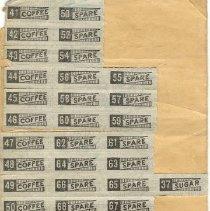 Image of Inside War Ration Book