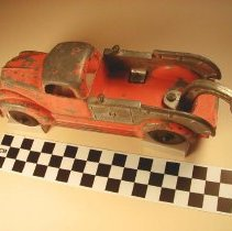 Image of Toy tow truck view 2