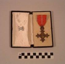 Image of (O.B.E.) (Mily) medal