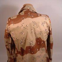 Image of Desert Camouflage Jacket  back