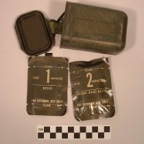 Image of Decontamination packets in poc