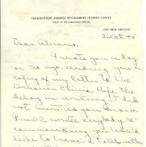 Image of A000.032.008 - Letter