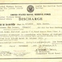Image of A007.001.001 - Discharge, Military