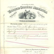 Image of Pension Certificate