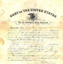 Image of A988.092.001 - Discharge, Military
