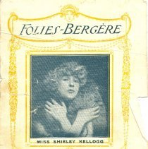 Image of Folies-Bergere program
