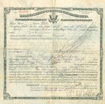 Image of A993.115.002 - Certificate, Citizenship