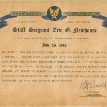 Image of A013.004.002 - Certificate, Commemorative