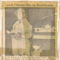 Image of A994.087.001 - Newspaper