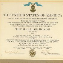 Image of A001.009.001 - Certificate, Commemorative