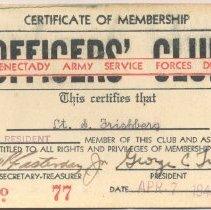 Image of A013.008.007 - Card, Membership