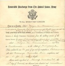Image of Berman_Meyer_N.004 - Discharge, Military