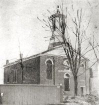 Image of First Presbyterian Church, before 1883 - 1135-10 thl