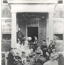 Image of Baker Family, 1872 - 126-7b wfchs