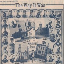 Image of Winchester Fire Companies -- 1897 Convention - 129-41 wfchs