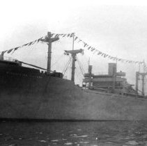Image of SS Winchester Victory launching - 1337-9 wfchs