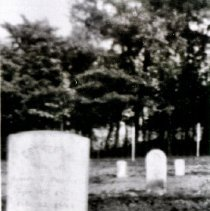 Image of Parlett tombstones - 1451-1b wfchs