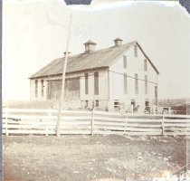 "Image of Barn at ""Fairfield"", c1900 - 163-46 wfchs"