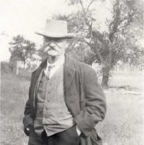 "Image of John Singleton ""Mosby"" Russell, c1920 - 286-3b wfchs"