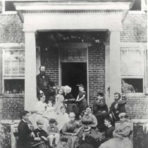 Image of Baker Family, 1872 - 69-259 wfchs