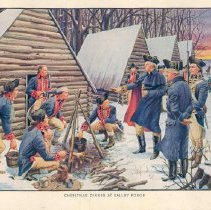 Image of Christmas Dinner at Valley Forge, 1777 - 69-262 wfchs
