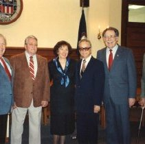 Image of Mayors of Winchester, 1948-1992 - 7-289b wfchs