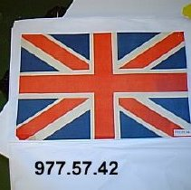 Image of 977.57.42 - flag