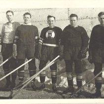 Image of Toburn Mine Hockey Players