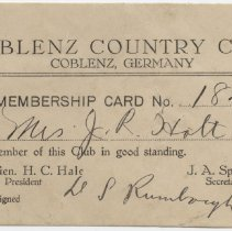 Image of 2012.12.10 - Card, Membership