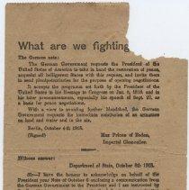 Image of 2012.12.38 - Leaflet