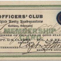 Image of 2012.12.6 - Card, Membership