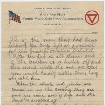 Image of 079_2013.58.1_November 23, 1917_Thomas R Shook to Parents_Page 3