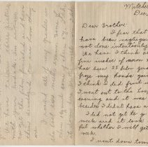 Image of 2013.58.1_December 14, 1917_Sister - Jeanette to Thomas R Shook_Page 1 And