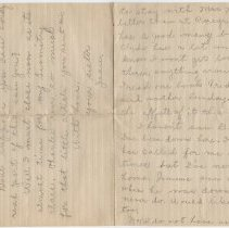 Image of 2013.58.1_December 14, 1917_Sister - Jeanette to Thomas R Shook_Page 4 And