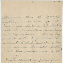 Image of 011_2013.58.1_October 4, 1917_Eva Lutz To Thomas R Shook_Page 2