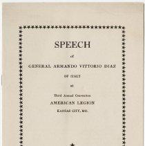 Image of 1977.29.14 - Speech