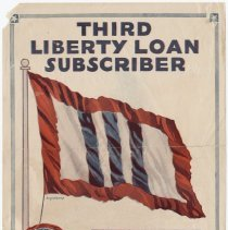 Image of U.S. 3rd Liberty Loan Poster