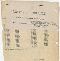 Image of 1996.51.136O - Memorandum