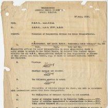 Image of 1996.51.136Q - Memorandum