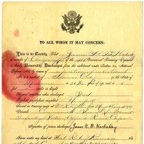 Image of 1986.213.15 - Memorandum