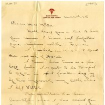 Image of 1938.100.35 - Letter